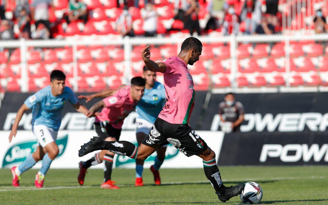 Palestino rescató un punto sobre la hora ante O'Higgins en un luchado compromiso por el Campeonato PlanVital